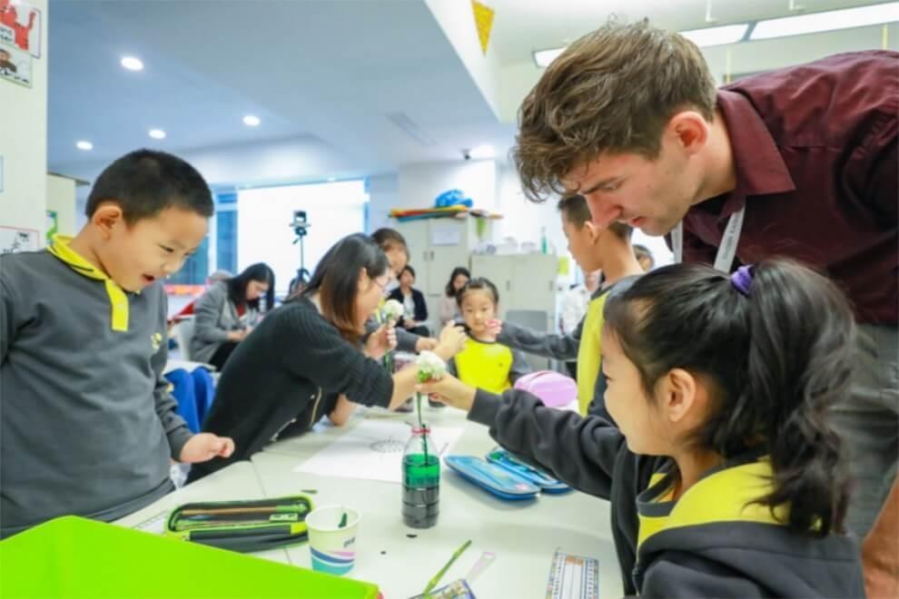 北京海淀凯文学校校园公开课活动图集