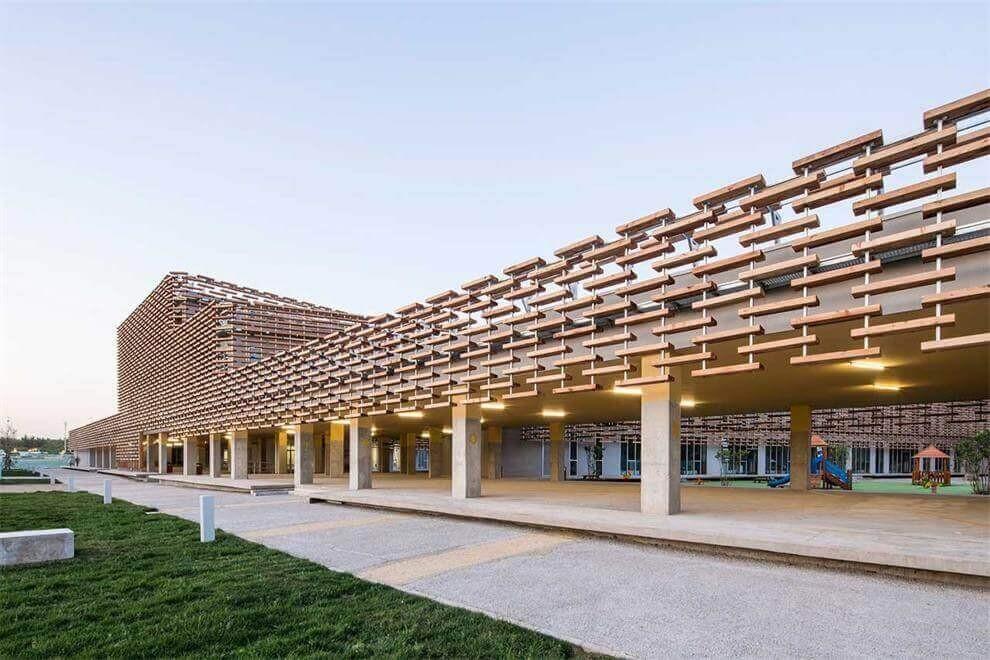 北京3e国际学校小学建筑设施图集