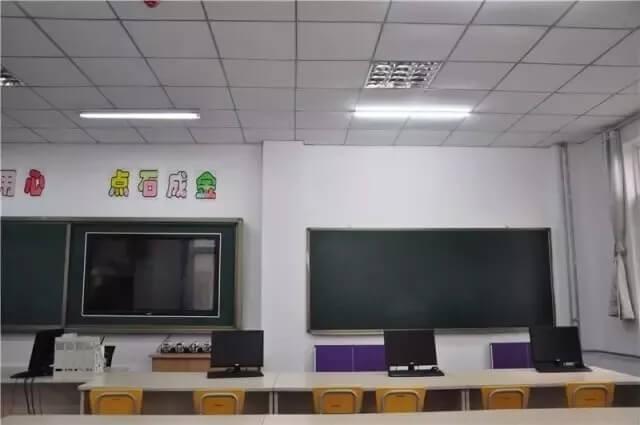 北京昌平凯博外国语学校教室环境图集
