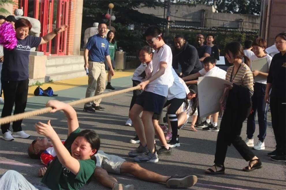 美国威力塔斯学校北京校区秋季运动会图集