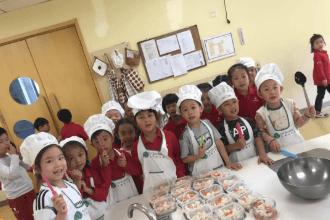 天津艾毅国际幼儿园食育教育图集