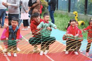 天津艾毅国际幼儿园亲子运动会图集