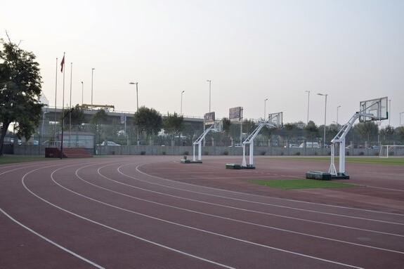 天津外国语大学附属外国语学校运动场所图集
