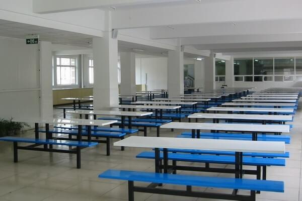 天津外国语大学附属外国语学校学校餐厅图集