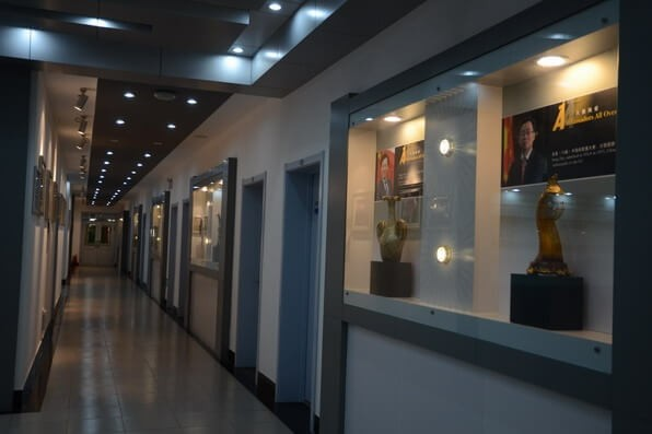 天津外国语大学附属外国语学校教育展厅图片02