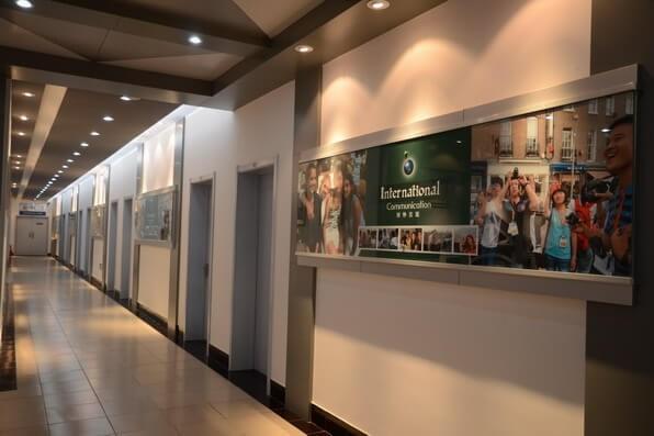 天津外国语大学附属外国语学校教育展厅图片06