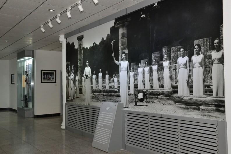 天津外国语大学附属外国语学校教育展厅图片07