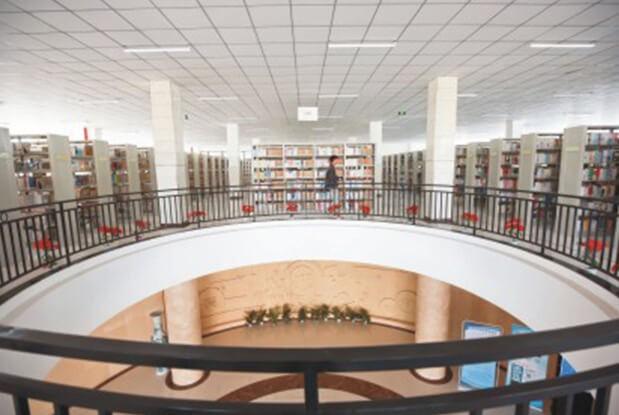 西安科大高新国际课程中心图书馆图集
