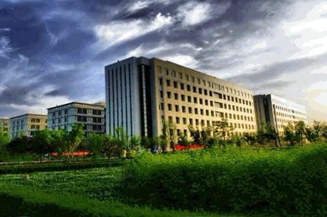 西安科大高新国际课程中心校园环境图集