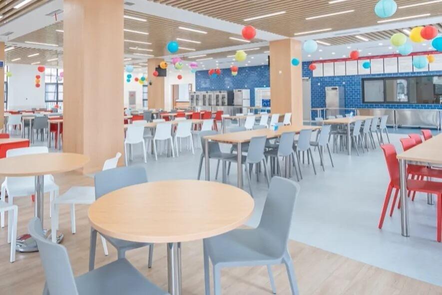 巴德美际学校成都校区餐厅图集