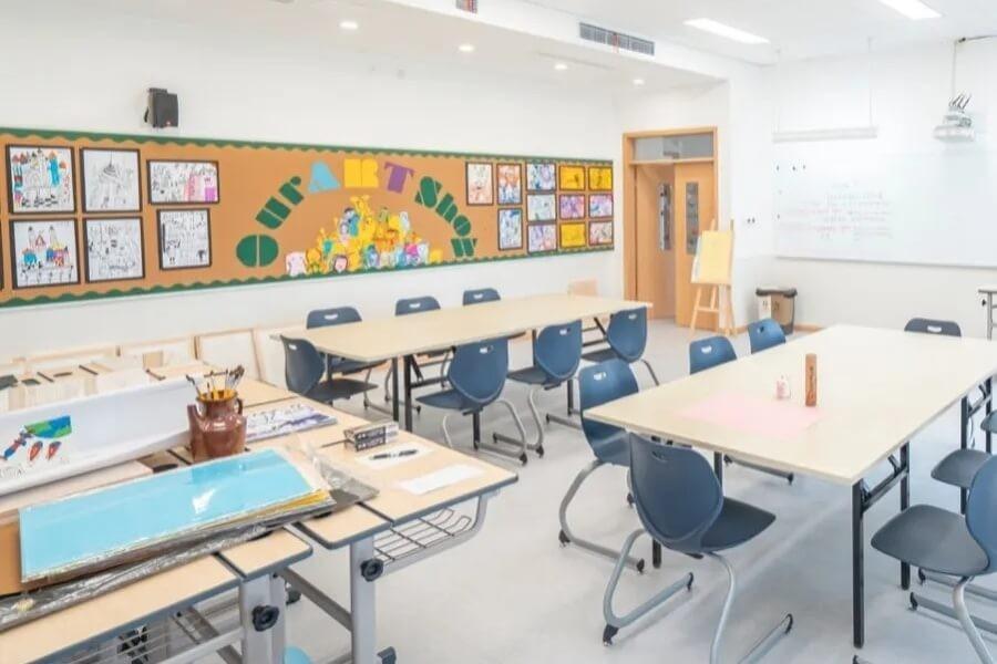 巴德美际学校成都校区教室图集