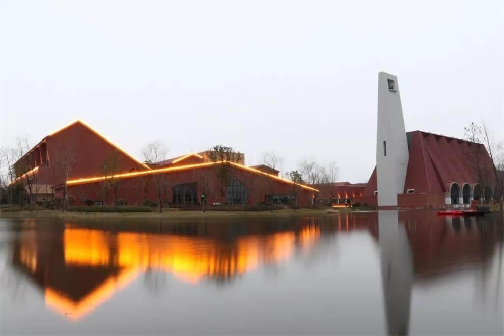 北外附属龙游湖外国语学校校园环境图集