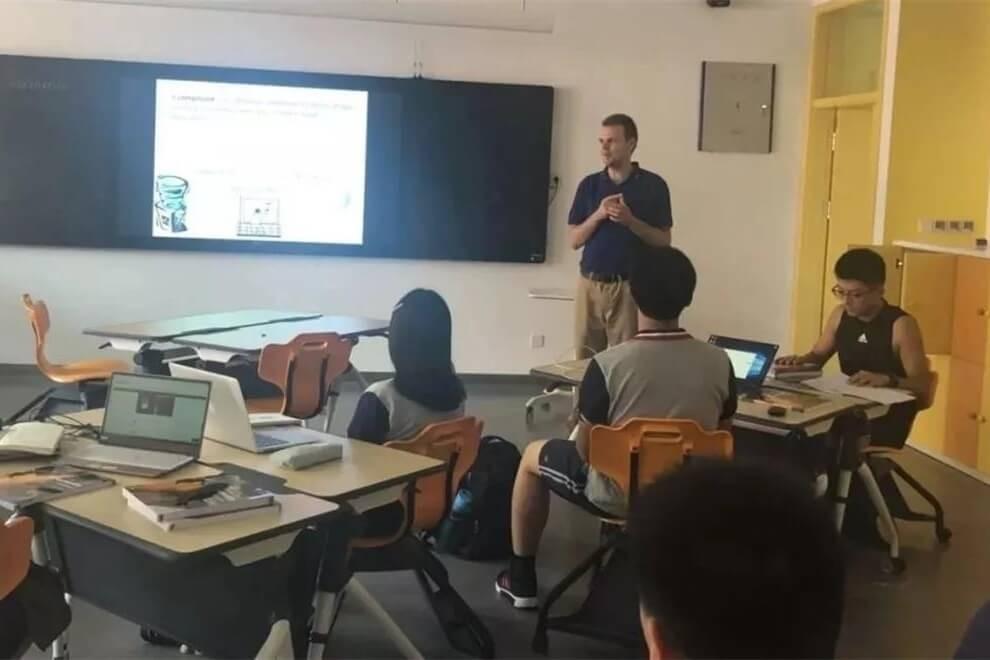 北外附属龙游湖外国语学校学生教室图集