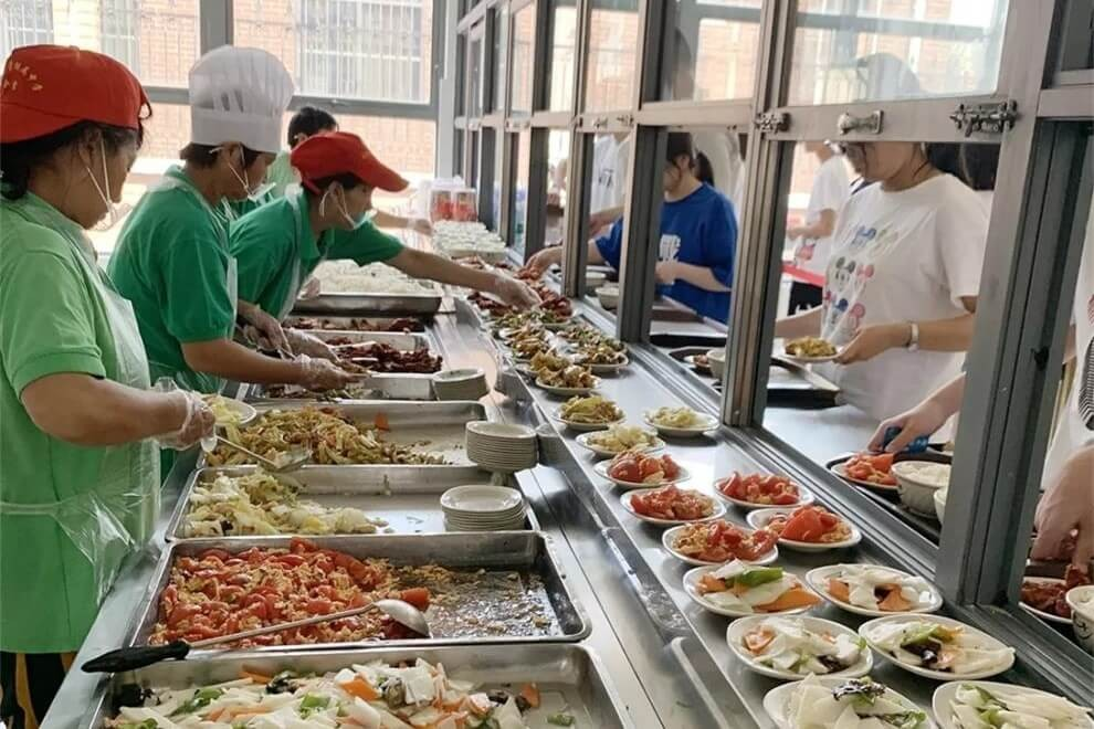 南通崇川外国语学校食堂图集