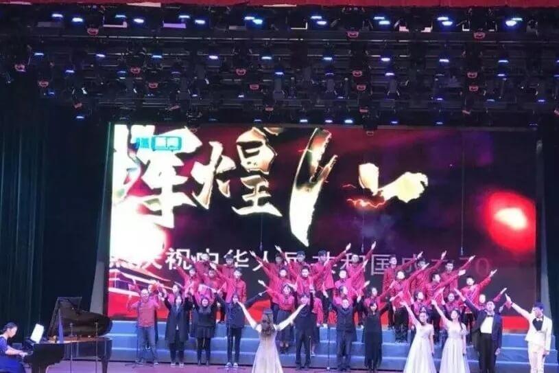 江苏省泰州中学国际部合唱比赛图集