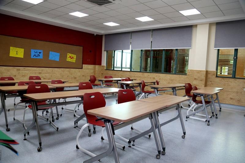 华南师范大学附属外国语学校美式高中功能教室图集