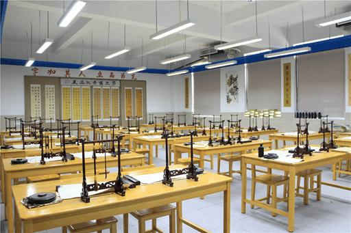 碧桂园十里银滩学校书法室图片