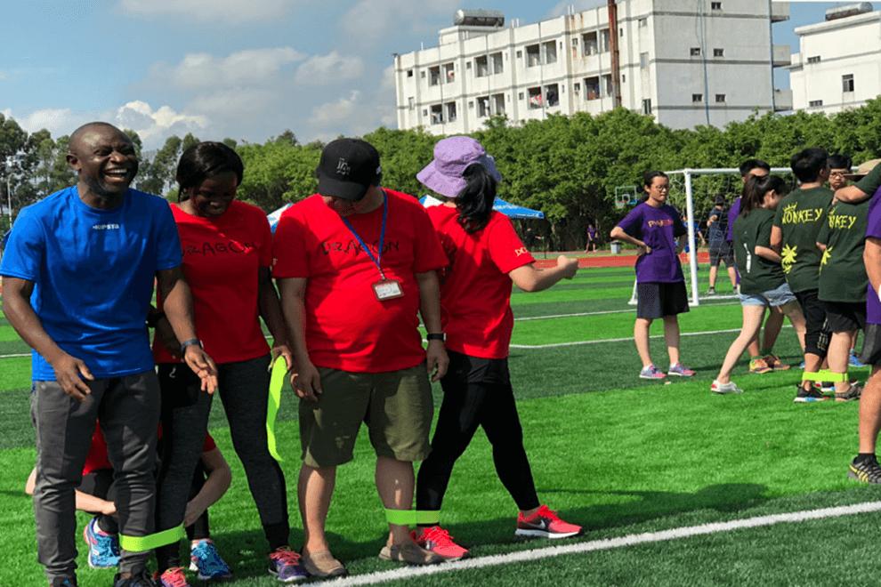 广州亚加达国际预科运动会图集