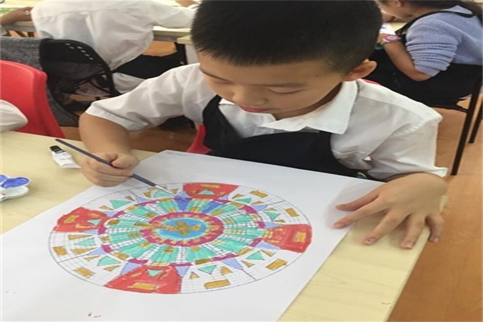 广州爱莎国际学校绘画图集