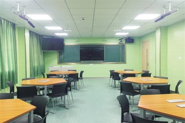 武汉市洪山高级中学国际部办公设施图集