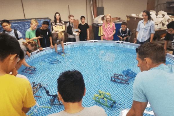 青岛盟诺学校水下活动图集
