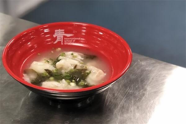 青岛MTI国际学校午餐图集