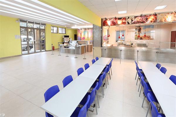 重庆耀中国际学校食堂图集