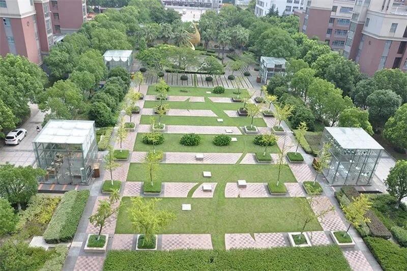 上海光华学院剑桥国际中心校园环境图片03