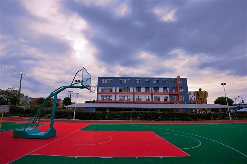上海常青日本高中课程中心运动场地图集