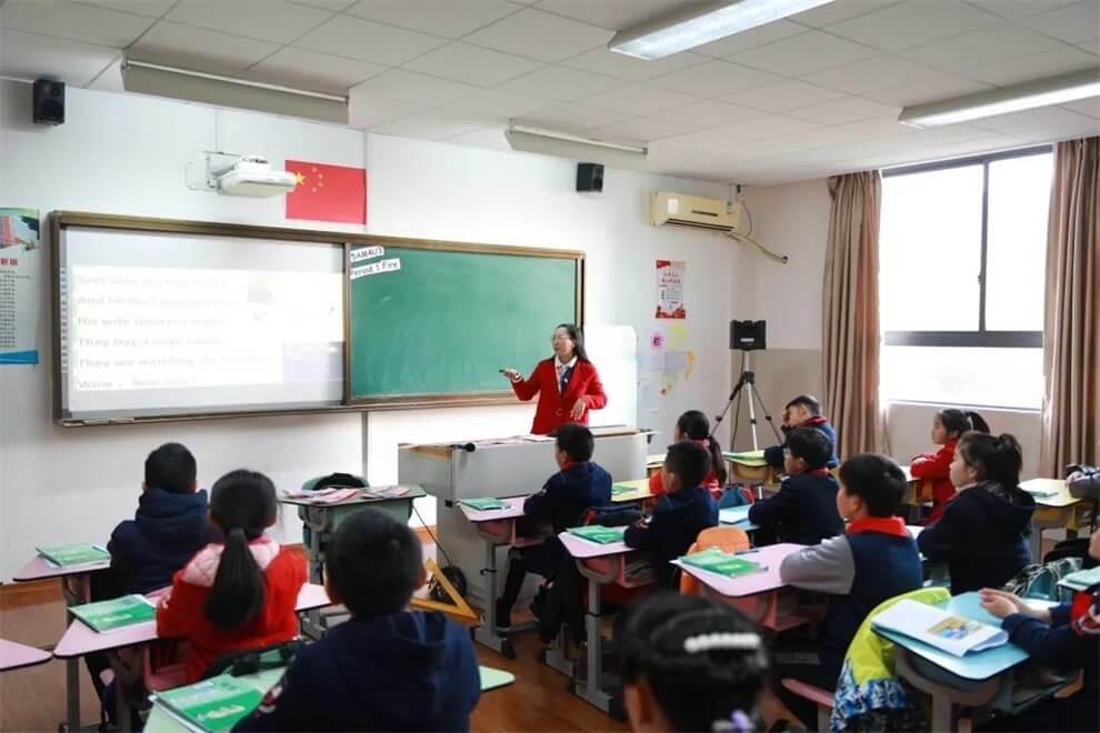 上海帕丁顿双语学校课堂学习图集