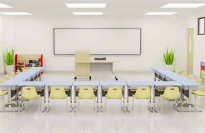 威海实验外国语学校上课教室图集