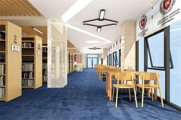 海南力迈中美国际学校图书馆图集