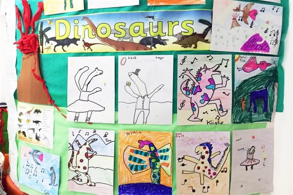 Muffy's博识梦飞幼儿园创作图集