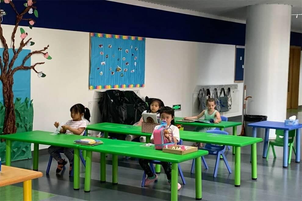 天津思锐外籍人员子女学校课堂学习图集