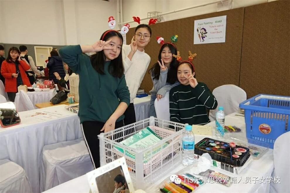 天津思锐外籍人员子女学校圣诞节图集