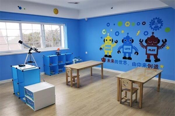 青岛圣大公学科技主题元素教室图集
