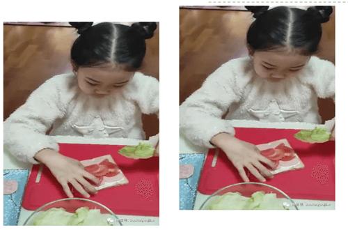 青岛国开中学国际部制作三明治活动图集02