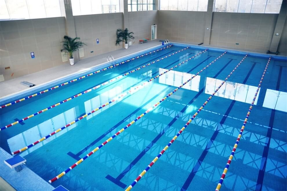 青岛孔裔国际公学游泳池图集