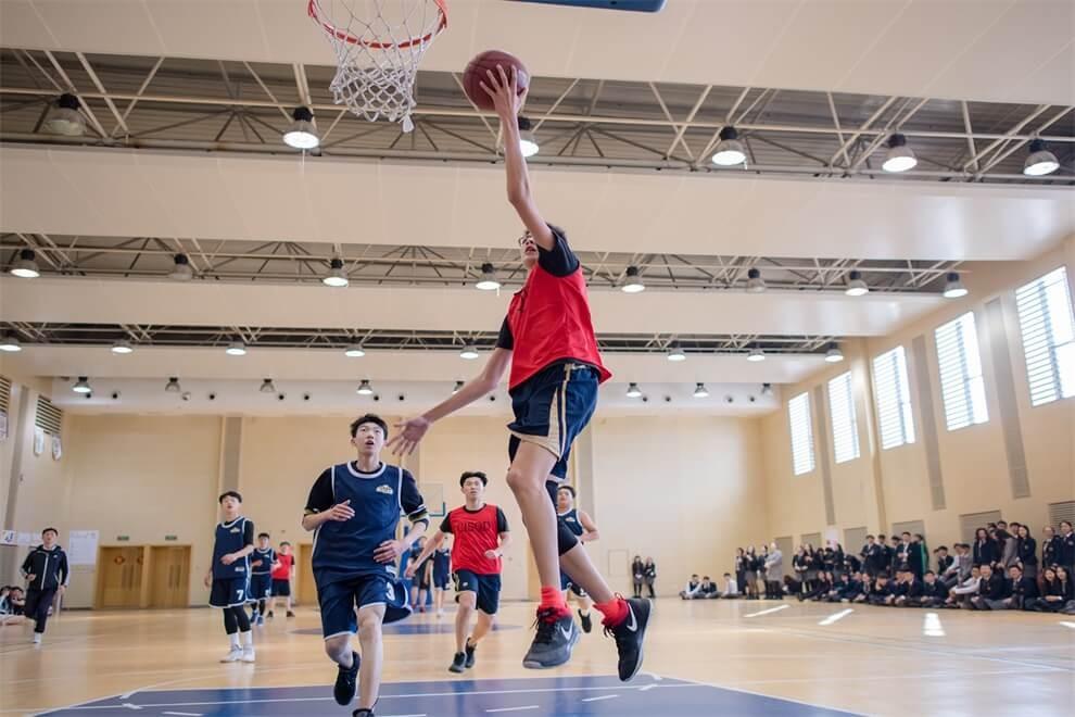 青岛孔裔国际公学篮球场图集