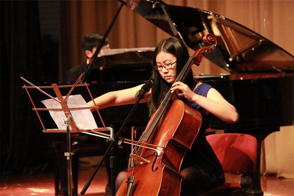 青岛孔裔国际公学大提琴图集