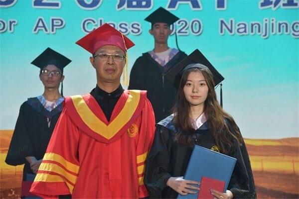 南京市第一中学国际部毕业典礼图集