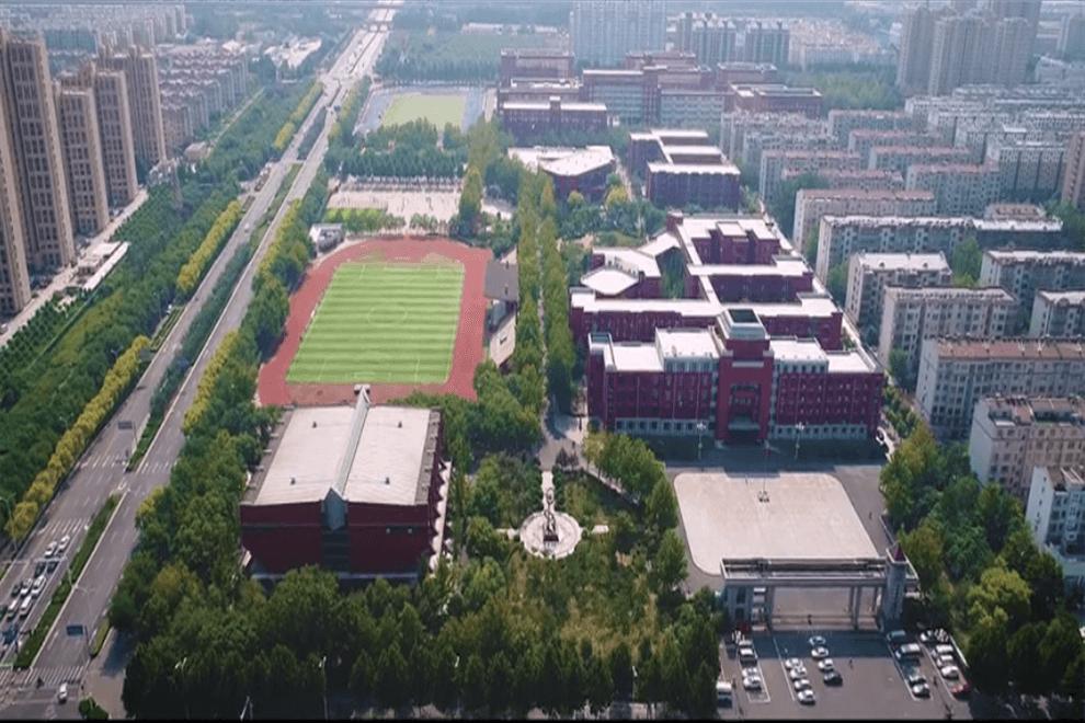 山东淄博实验中学国际部建筑图集