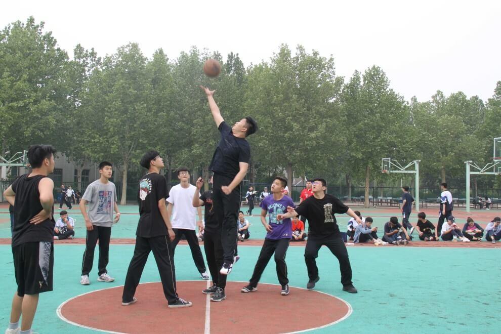 山东淄博实验中学国际部篮球比赛图集