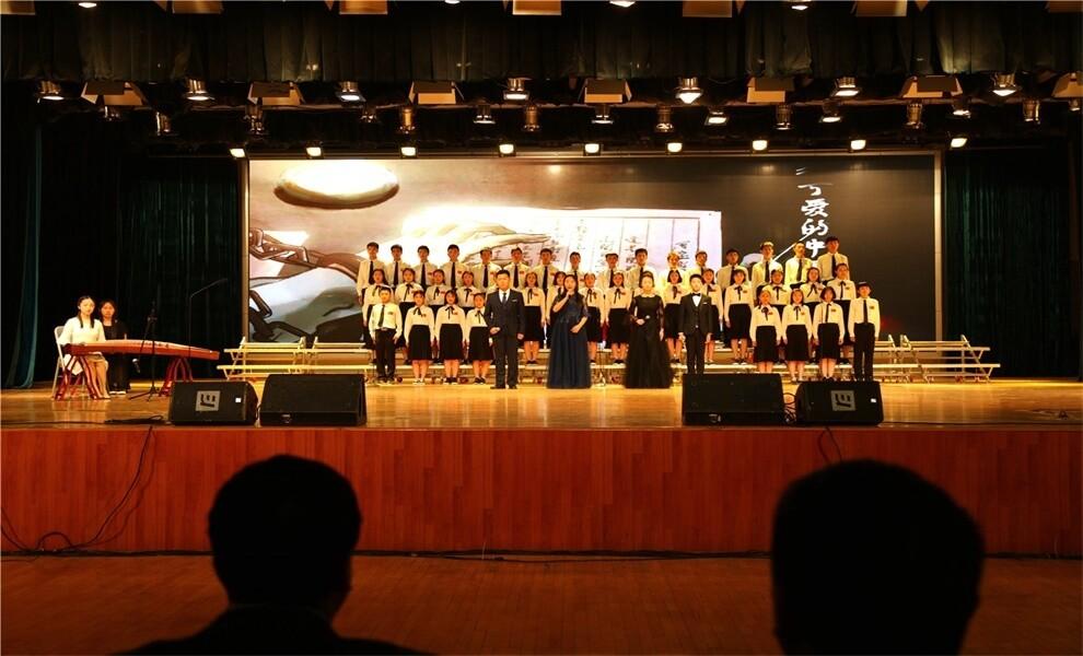 山东省淄博第十一中学国际部诵读活动图集