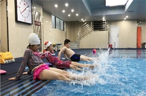 合肥常春藤实验学校游泳课图集