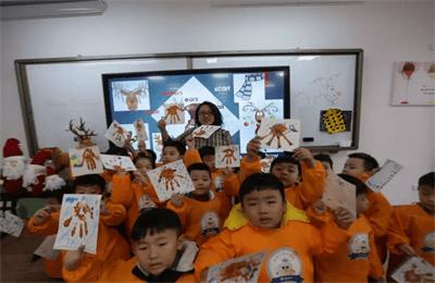 南昌力迈中美国际学校沙画课图集