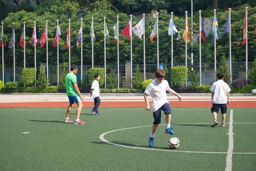 福州西湖国际学校足球图集