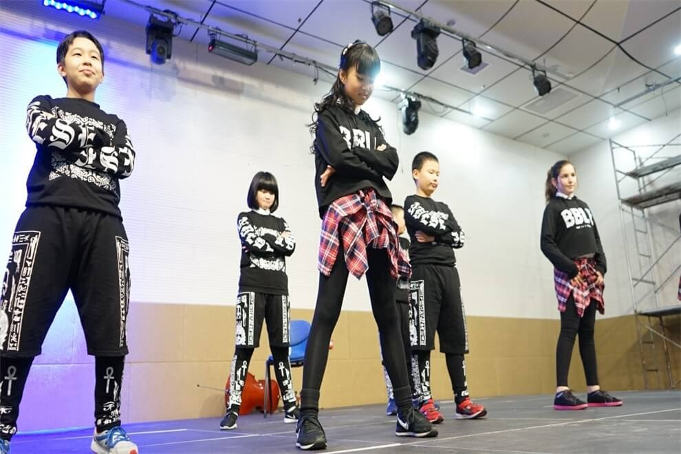 福州西湖国际学校街舞社团图集