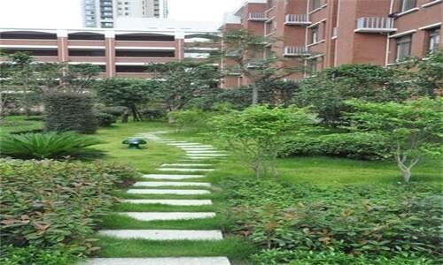 长沙市长郡中学国际部校园绿景图集