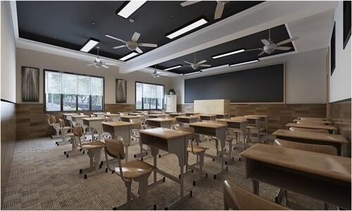 长沙市长郡中学国际部教室图集